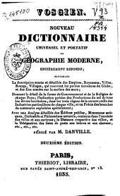 Nouveau dictionnaire géographique universel et portatif de goegraphie moderne ...