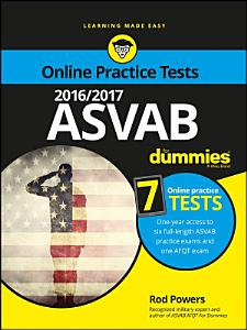 2016 / 2017 ASVAB For Dummies with Online Practice Book