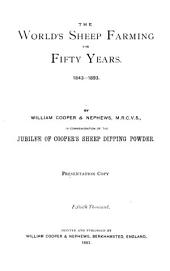 The World's Sheep Farming for Fifty Years: 1843-1893