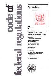 Code of Federal Regulations: 1985-1999
