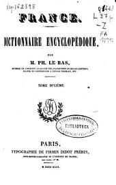 France: Dictionnaire Encyclopédique, Volume 10