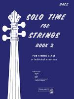 Solo Time for Strings - String Bass, Book 2