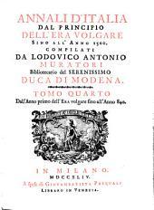 Annali d'Italia, dal principio dell'era volgare sino all'anno: Volume 4