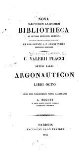Setini Balbi Argonauticon libri octo