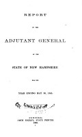 Report of the Adjutant General of the State of New Hampshire PDF