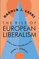 The Rise of European Liberalism PDF