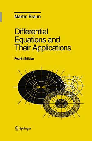 Differential Equations and Their Applications PDF