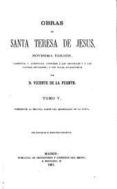 Obras de Santa Teresa de Jesus: Volumen 5