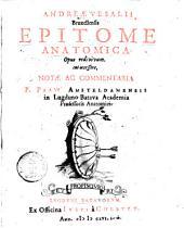 Epitome Anatomica ...