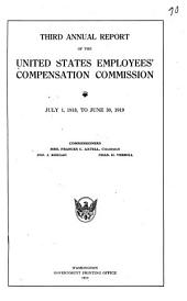 Annual Report of the United States Employees' Compensation Commission