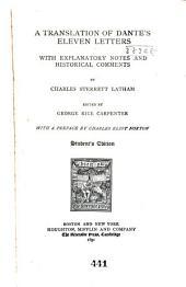 A Translation of Dante's Eleven Letters