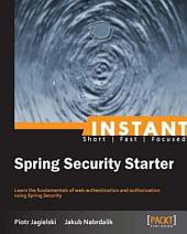 Instant Spring Security Starter