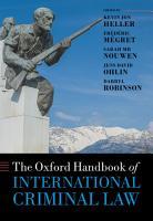 The Oxford Handbook of International Criminal Law PDF