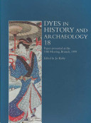 Dyes in History and Archaeology 18 PDF