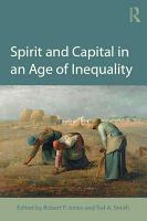 Spirit and Capital in an Age of Inequality PDF