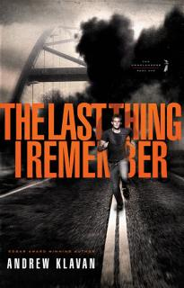 The Last Thing I Remember Book