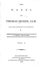 The works of Thomas Secker...