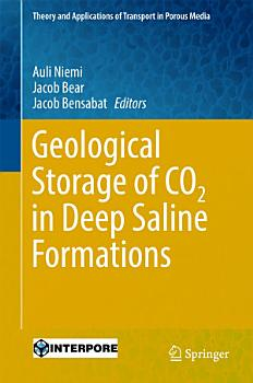 Geological Storage of CO2 in Deep Saline Formations PDF