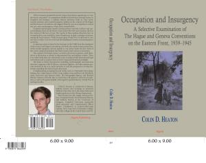 Occupation and Insurgency PDF