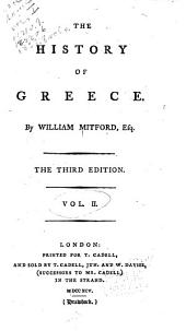 The history of Greece: Volumes 2-3