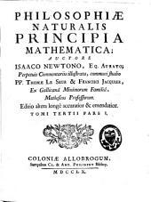Philosophiae naturalis principia mathematica: Volume 3