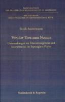Von der Tora zum Nomos PDF