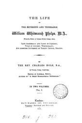 The life of ... William Whitmarsh Phelps: Volume 1