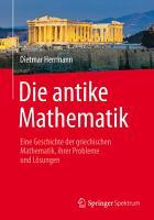 Die antike Mathematik PDF