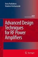 Advanced Design Techniques for RF Power Amplifiers PDF