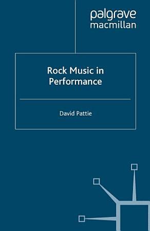Rock Music in Performance PDF