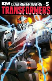 Transformers: Windblade Vol. 2 #3 - Combiner Wars