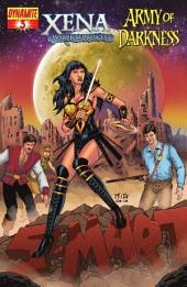 Xena: Warrior Princess vs. Army of Darkness: What, Again? #3