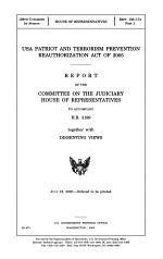 USA Patriot and Terrorism Prevention Reauthorization Act of 2005