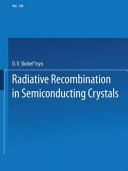 Radiative Recombination in Semiconducting Crystals PDF