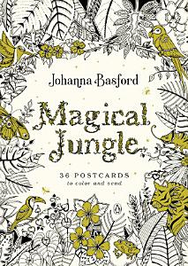 Magical Jungle  36 Postcards to Color and Send Book