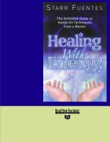 Healing With Energy PDF