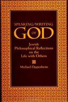 Speaking Writing of God PDF