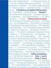 Foundations of Applied Mathematics, Volume I: Mathematical Analysis