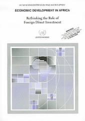 Economic Development in Africa: Rethinking the Role of Foreign Direct Investment