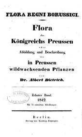 Flora des Königreichs Preussen oder Abbildung und Beschreibung der in Preussen Wildwachsenden Pflanzen: Band 10