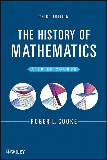 The History of Mathematics PDF
