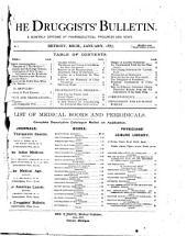 The Druggists' Bulletin: Volume 1