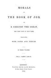 Morals on the Book of Job: Volume 37