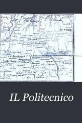 IL Politecnico: repertorio mensile di studj applicati alla prosperità e coltura sociale, Volumi 15-16