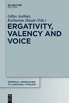 Ergativity  Valency and Voice PDF