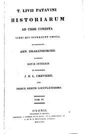 T. Livii ... Historiarum ab urbe condita libri qui supersunt omnes, ex recens. A. Drakenborchii, accedunt notæ integræ ex editionibus J.B.L. Crevierii [ed. by T. Gaisford].