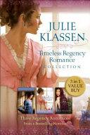 Timeless Regency Romance Collection
