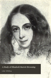 A Study of Elizabeth Barrett Browning
