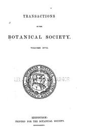 Transactions and Proceedings of the Botanical Society of Edinburgh: Volume 17