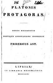 Platonis Protagoras